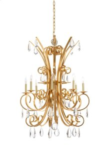 Grand Stairs Chandelier-gold