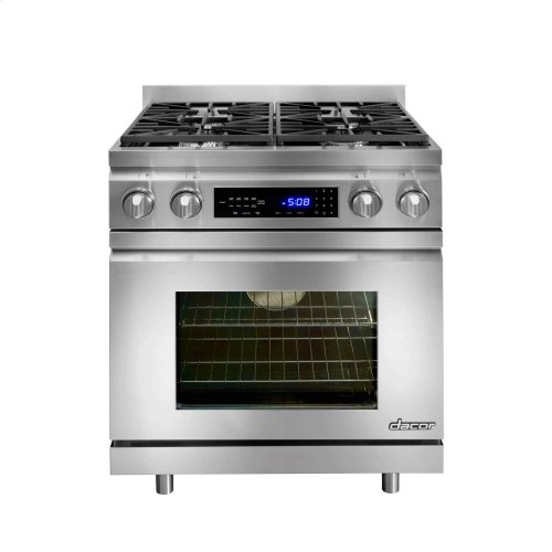 """Distinctive 30"""" Slide-In Dual-Fuel Range,, in Stainless Steel with Liquid Propane-CLOSEOUT"""