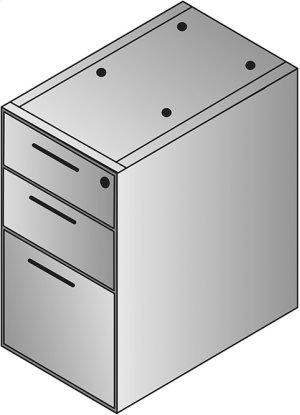 Napa Box/box/file Desk Pedestal