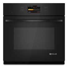 Black Jenn-Air® Single Wall Oven with V2™ Vertical Dual-Fan Convection System, 30""