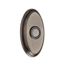 Matte Antique Nickel BR7016 Oval Bell Button