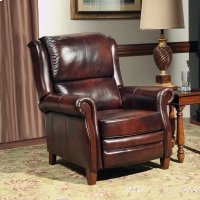 Camelot Earth Manual Pushback High Leg Recliner Product Image
