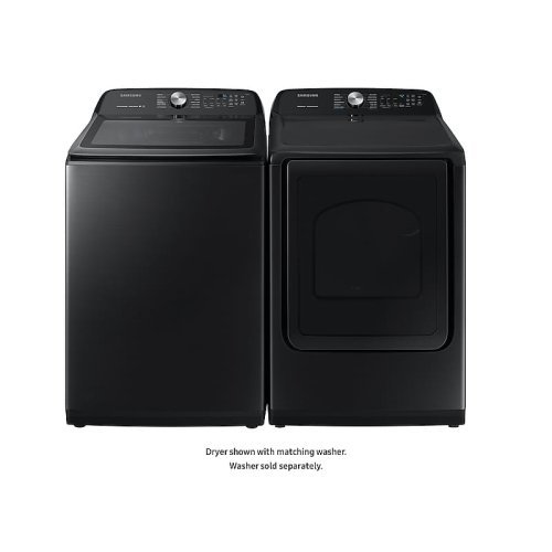 DV5400 7.4 cu. ft. Gas Dryer with Steam Sanitize+ in Black Stainless Steel