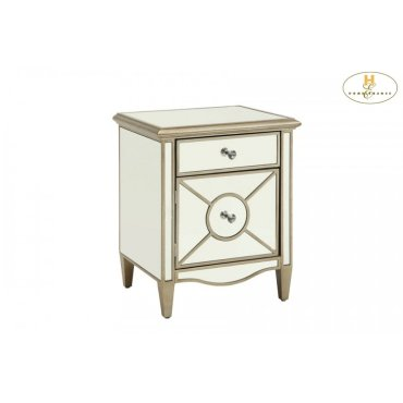 Mirrored Cabinet, Champagne