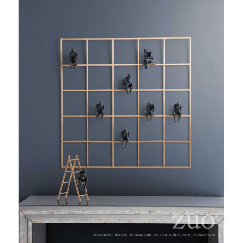 Wall Of Thought Antique Brass