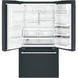 Caf(eback)(tm) Energy Star(r) 22.1 Cu. Ft. Smart Counter-Depth French-Door Refrigerator With Hot Water Dispenser