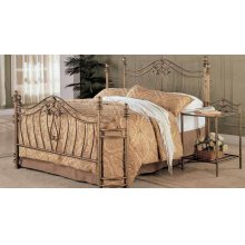 Sydney Traditional Antique Brushed California King Bed