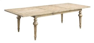 """Complete Dining Table W/turn Leg-top W/28"""" Butterfly Leaf & Base-sandstone Finish"""