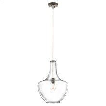 Everly Collection Everly - 1 Light Pendant  Olde Bronze