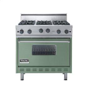"""Mint Julep 36"""" Open Burner Range - VGIC (36"""" wide, six burners)"""
