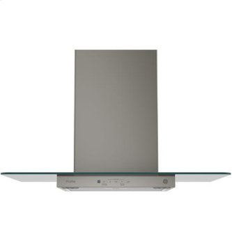 "30"" Wall-Mount Glass Canopy Chimney Hood"