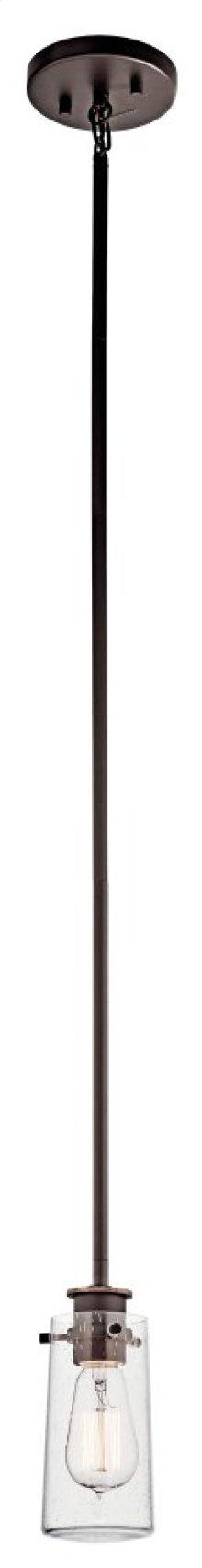 Braelyn 1 Light Mini Pendant Olde Bronze®