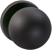 Interior Modern Knob Latchset in (US10B Oil-rubbed Bronze, Lacquered)