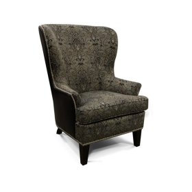 Leather Leif Chair with Nails 4544LN