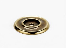 Traditional Backplate A615-14 - Polished Antique