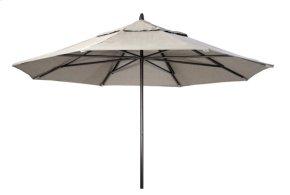 11' Powdercoat Aluminum Commercial Market Umbrella