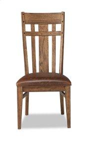 River Lattice Back Side Chair