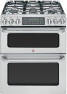 """30"""" Slide-In Double Oven Gas Convection Self-Cleaning Range Product Image"""