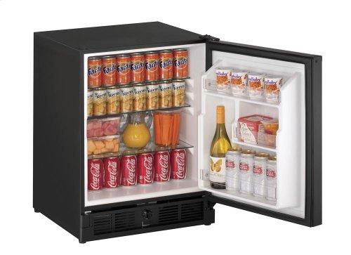 """21"""" ADA Solid Door Refrigerator White Solid (Lock) Left-Hand Hinge"""