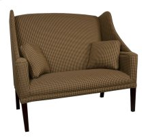 Settee with Cherry Chippendale Legs
