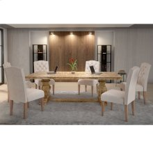 Takhur/Lucian 7pc Dining Set, Beige