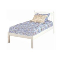 Windsor Twin with Low Footboard, White