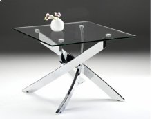 Modrest Pyrite Modern Glass End Table