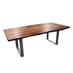 "Freeform 84"" Dining Table - Metal Legs"