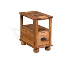 Sedona Chair Side Table w/ Drawer