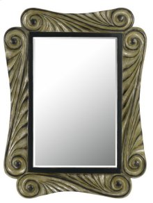 CAPRI RECTANGULAR PU FRAME MIRROR WITH BEVELED GLASS