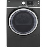 General ElectricGE(R) 7.5 cu. ft. capacity Front Load electric dryer with steam