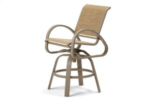 Balcony Height Swivel Cafe Chair