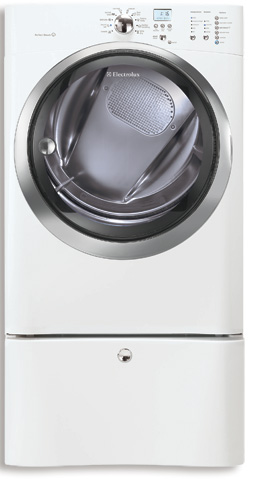 Electric Front Load Dryer with IQ-Touch Controls Featuring Perfect Steam