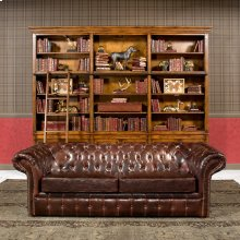 Piccadilly 3 Seat Sofa, Club Leather
