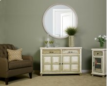 Larose Console Table With 2 Door Storage