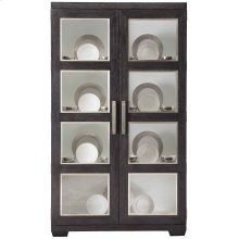 Decorage Display Cabinet in Cerused Mink (380)