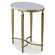 East Camden Oval End Table