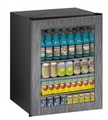 "Ada Series 24"" Ada Glass Door Refrigerator With Integrated Frame Finish and Field Reversible Door Swing"
