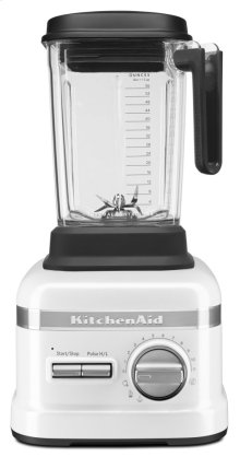 Pro Line® Series Blender with Thermal Control Jar - Frosted Pearl White