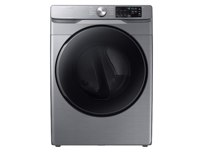 Samsung7.5 Cu. Ft. Gas Dryer With Steam Sanitize+ In Platinum