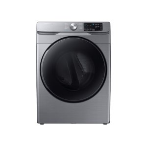 Samsung7.5 cu. ft. Gas Dryer with Steam Sanitize+ in Platinum