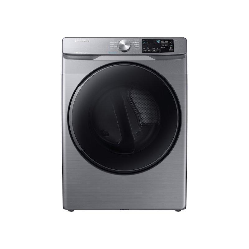 7.5 cu. ft. Gas Dryer with Steam Sanitize+ in Platinum