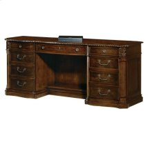 Old World Walnut Executive Credenza