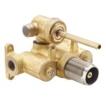 "California FaucetsMulti-Series Styletherm 1/2"" Thermostatic Rough Valve with Dual Outlet Integral Diverter"