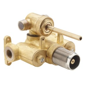 """Multi-Series Styletherm 1/2"""" Thermostatic Rough Valve With Dual Outlet Integral Diverter"""
