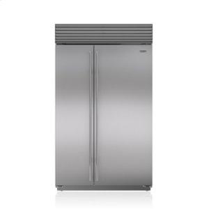 "Subzero48"" Classic Side-by-Side Refrigerator/Freezer"