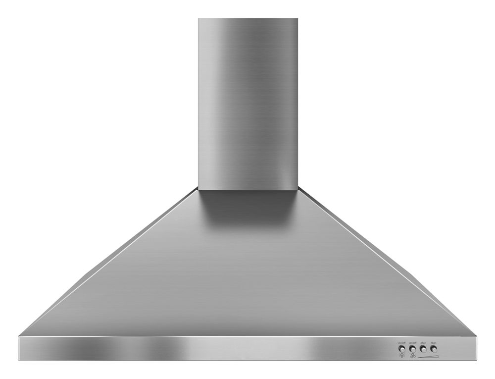 Gold(R) 30-inch Vented 300-CFM Wall-Mount Canopy Hood  STAINLESS STEEL
