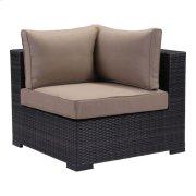 Bocagrande Corner Chair Brown Product Image