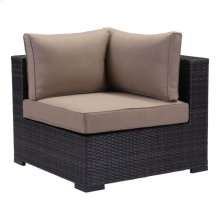 Bocagrande Corner Chair Brown