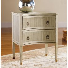 Painted Gustavian Bedside Chest, Painted Grey Finish.